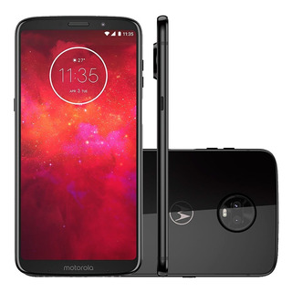 Smartphone Moto Z3 Play Xt1929-5 Indigo - Dual Chip, 4g, Tel