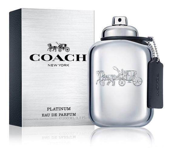 Perfume Masculino Coach New York Platinum Eau De Parfum100ml