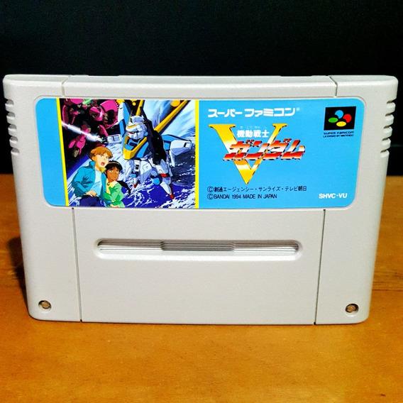 Kidou Senshi V Gundam - Super Nintendo / Famicom Original