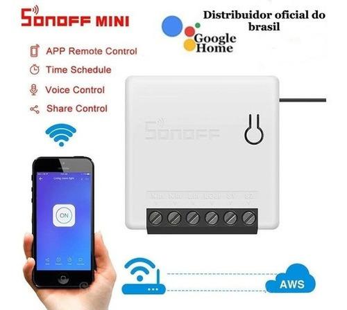 Imagem 1 de 8 de Sonoff Mini Interruptor Wi-fi Automação Residencial Original