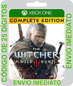 The Witcher 3 Wild Hunt Complete Edition Código 25 Dígitos