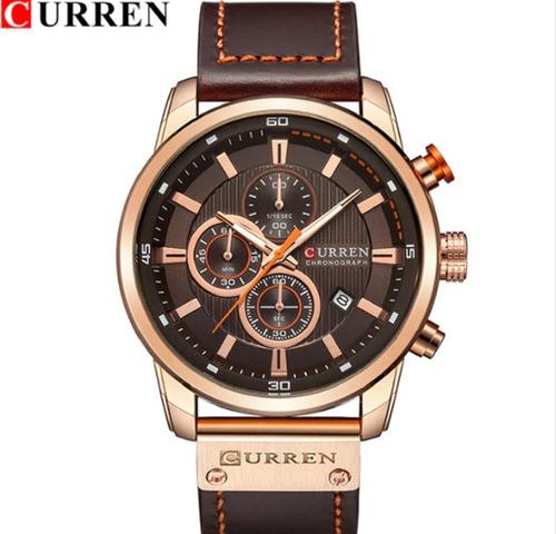 Relógio Masculino Curren 8291 Oferta Todo Funcional C.02