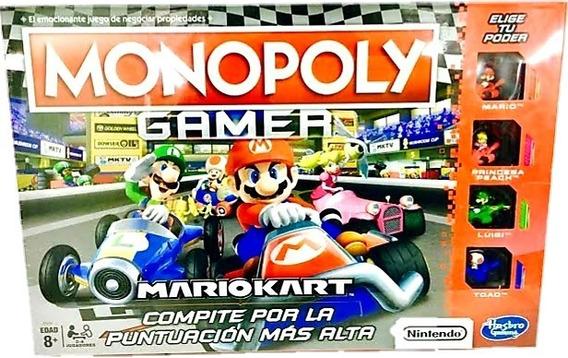 Monopoly Mario Kart Juego De Mesa Clasico Hasbro