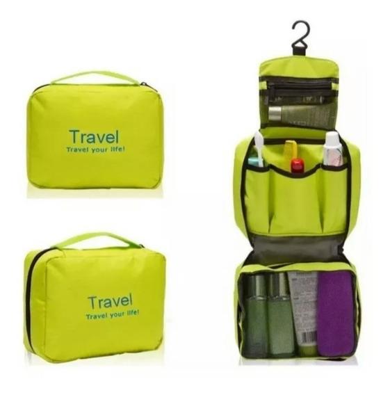 Organizador De Viaje Neceser Ideal Viajes Super Completo