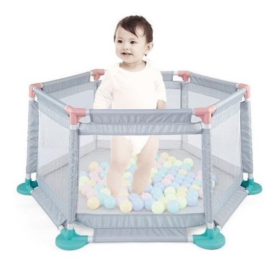 Corralito Bebe Pelotero Reforzado Cici Babymovil Cuotas
