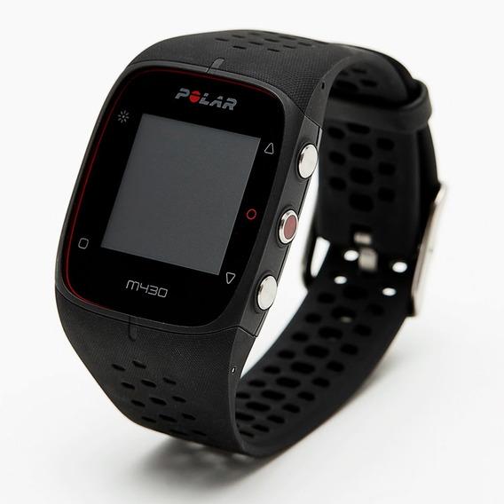 Monitor Cardíaco Polar M430 Gps Cinza Usado + Pulseira E Nf