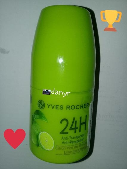 Yves Rocher - (limón) Desodorante Roll On 24 H