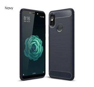 Capa Capinha Case Fibra Carbono Xiaomi Mi A2 Mia2