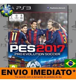 Ps3 Pro Evolution Soccer 2017 Pes 17 Mídia Psn Envio Agora