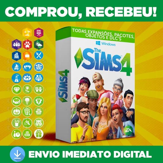 The Sims 4 Completo + Todas As Expansões Atualizado