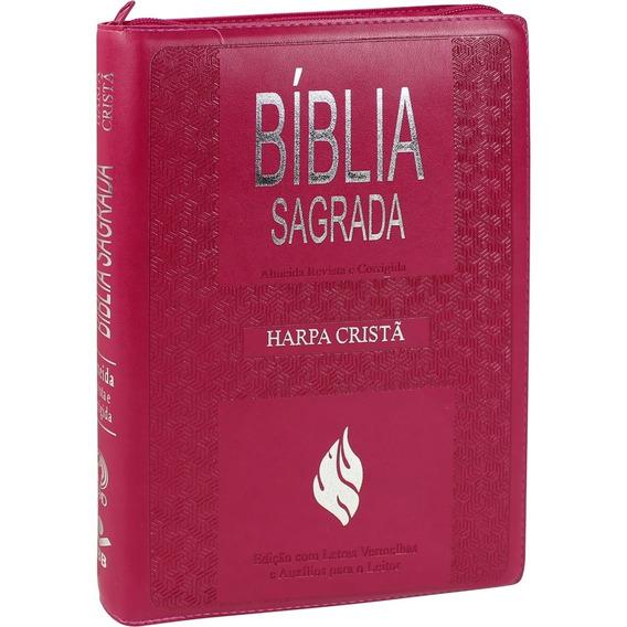 Biblia Sagrada Com Harpa Cristã - Arc - Letra Gigante E Índ
