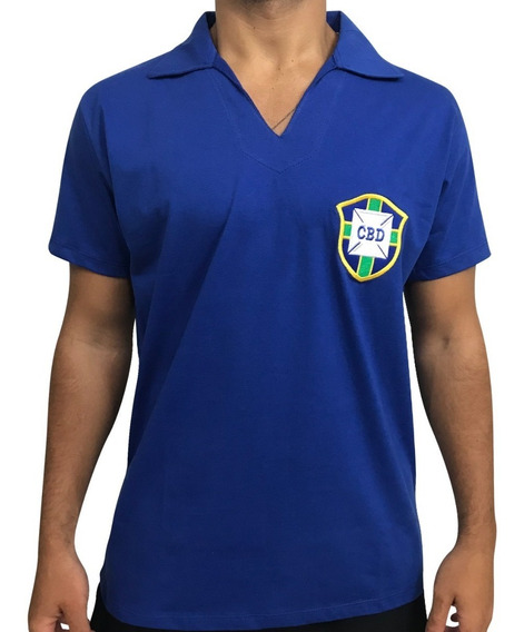 Camisa Retrô Brasil 1958