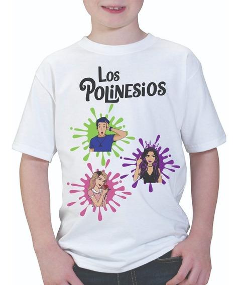 Playera Infantil Los Polinesios Regalo