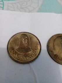 3 Moedas-fichas Disney. 1977. Maga, Min E Mancha Negra.