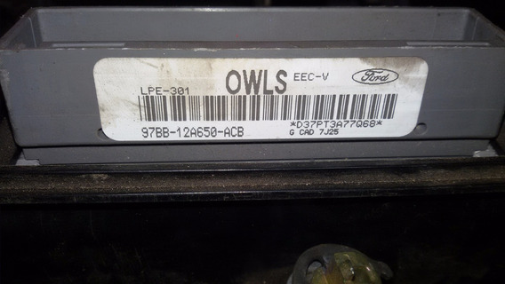 Módulo Injeção Mondeo 1.8 16v 97bb-12a650-acb Owls C/ Chave