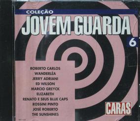 Coleção Jovem Guarda - Cd 6 Roberto Carlos Wanderléa