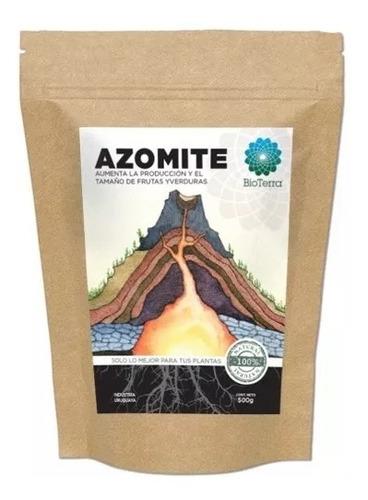 Imagen 1 de 3 de Fertilizante Azomite 500grs Bioterra Rendimiento Autocultivo