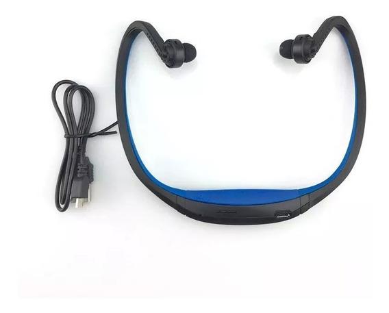 Fone De Ouvido Esportivo Sem Fio Bluetooth + Suporte Sd