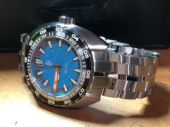 Reloj Nth Devilray Turquoise Diver 500m Automatic Buceo