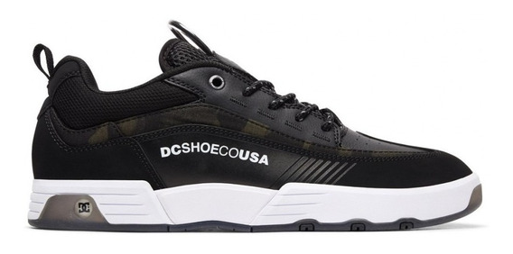 Tenis Dc Shoes Legacy 98 Slim Preto