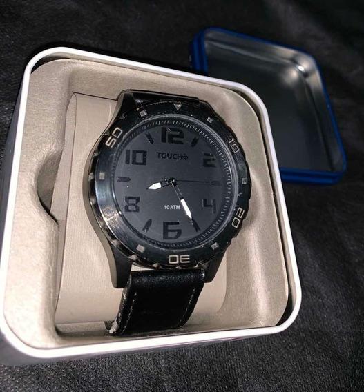 Relógio Touch Preto