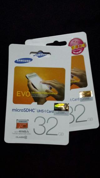 Cartão Micro Sd Class10 100% Original Samsung Evo Lacrado!