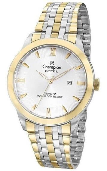Relógio Champion Masculino Ref: Ca21599s Social Bicolor