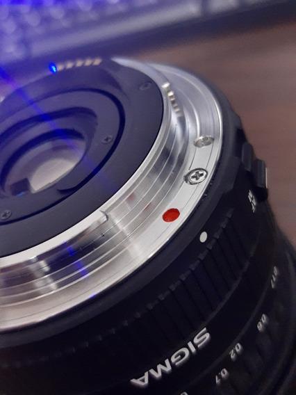 Lente Fisheye Canon 15mm Sigma 2.8f