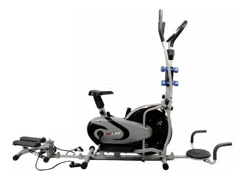 Bicicleta Elíptica Estática 10en1  Monitor Sensor Banda Gym