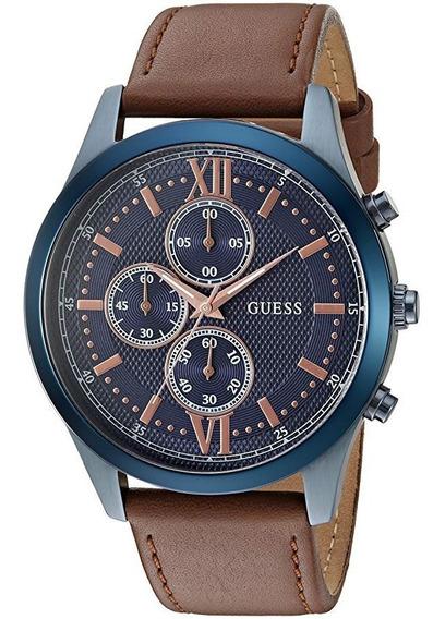 Reloj Guess Dress Sky Blue U0876g3 Nuevo Original!