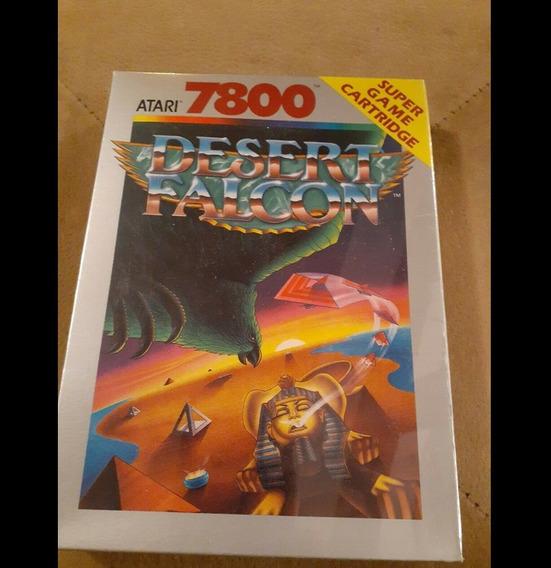 Atari Jogo Desert Falcon Pra 7800 Lacrado Cartucho Ano 1989