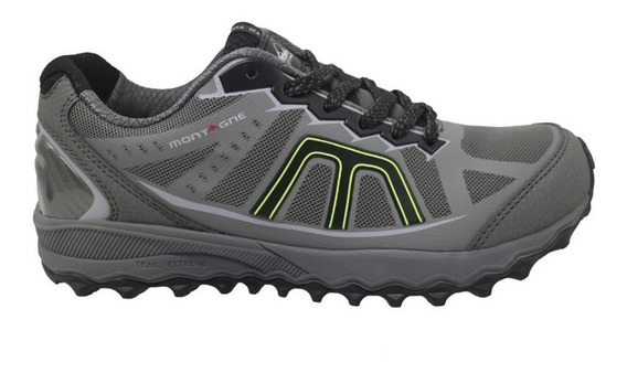 Zapatilla Montagne Running Hombre Trail Extreme Correr Gym