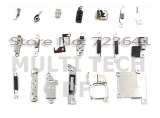 Kit Placa De Metal Interna iPhone 5s Blindagem + Parafusos