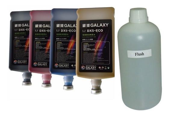 4lt Tinta Galaxy Cabezal Dx5 Dx7 Xp600 Ploter Lona Epson