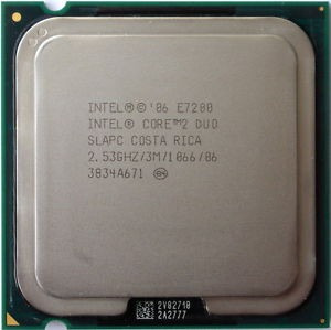 Processador Core 2 Duo E7200 2.53ghz 3mb 1066 Lga 775 ¨