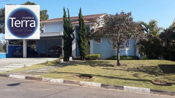 Casa Residencial À Venda, Parque Das Artes, Granja Viana. - Ca1320