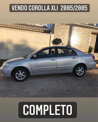 Imagem 1 de 4 de Toyota Corolla 2005 1.6 16v Xli Aut. 4p