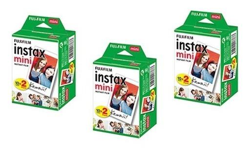 Kit Filmes Instax Mini Com 60 Fotos - Fujifilm