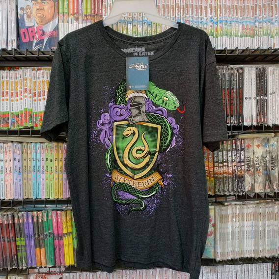 Slytherin Camiseta Máscara De Látex