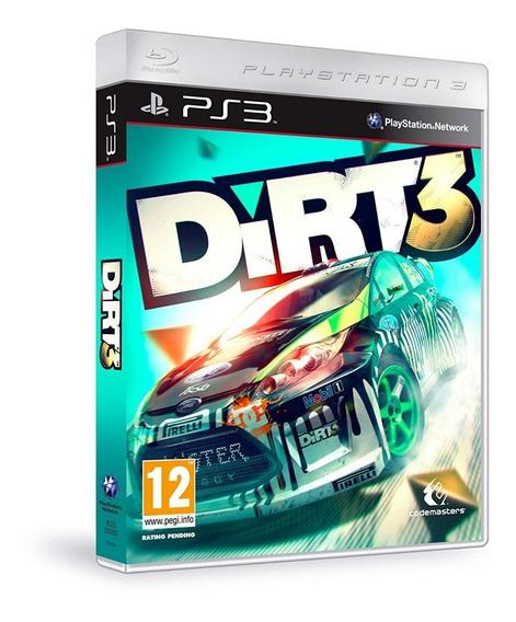 Dirt 3 Ps3 - Leia Descrição