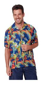 Camisa Hawaiana 100% Poliéster Varios Modelos
