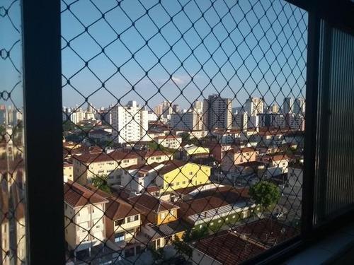 Imagem 1 de 13 de Apartamento 2 Quartos Para Locação Em Santos, Marapé, 2 Dormitórios, 1 Suíte, 2 Banheiros, 1 Vaga - 374_1-1875671