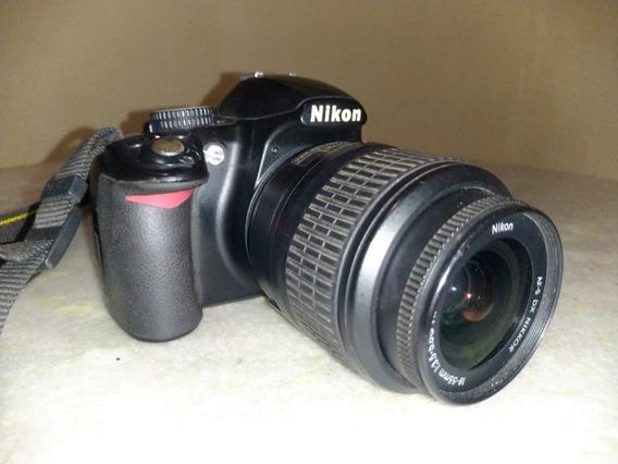 Câmera Profissional Nikon D3100 - Usada + Lente 35mm