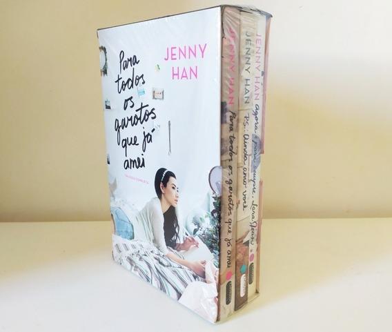 Box 3 Livros - Para Todos Os Garotos Que Já Amei