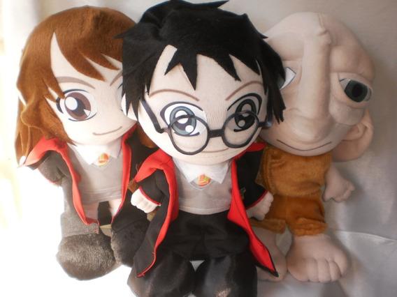 Pelúcia Harry Potter + Hermione + Dobbypromoção