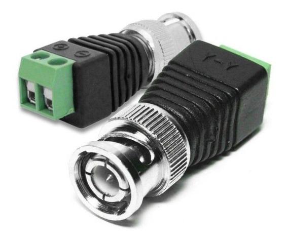 Kit 200 Conectores Bnc Borne + 100 P4 Macho P/cftv Borne