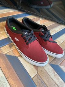 Tênis - H D Recortes - Vermelho