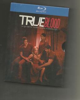 Blu-ray True Blood - 4ª Temporada 5 Discos - Box Lacrado