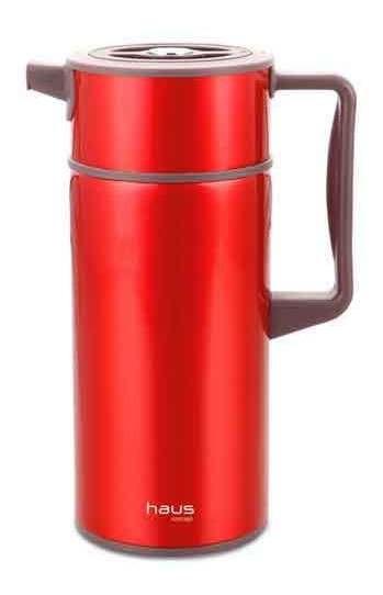 Garrafa Térmica Com 1,5 Litros Scala Vermelho - Haus