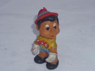 Antiguo Muñeco Goma Original Disney Pinocho Sellado 1966